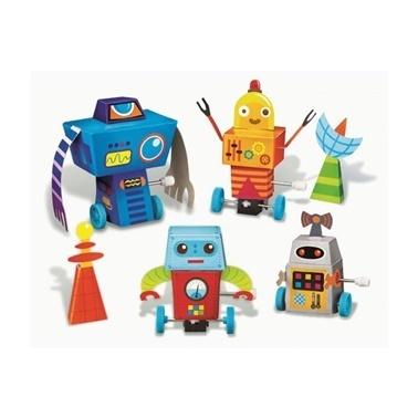 4M 4M Koşan Robotlar Renkli